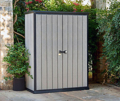 Keter High Store - small garden shed W-1.4m D-0.7m