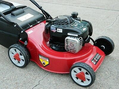 Lawnmower 4 Stroke Mower Briggs & Stratton 500E USA Mulch & Catch 2 Yr Warranty