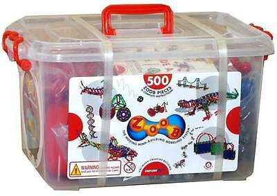 Zoob 500 Piece Set in Carry Tub