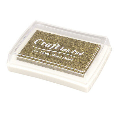 Rubber stamp ink pad stamp inkpad Ink Pad - Gold WS