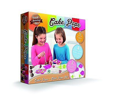 Real Baking Childs Cake Pops Set NEW 2016