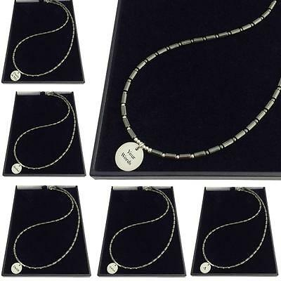Engraved Necklace for Men, Personalised Engraving for Son, Brother, Godson etc