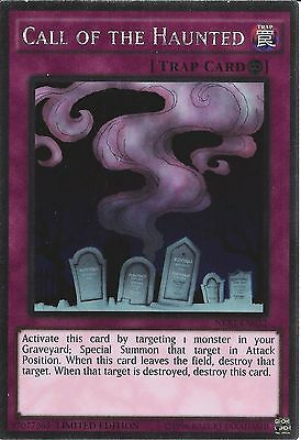 Yu-Gi-Oh: Platinum Rare - Call Of The Haunted - Nkrt-En032 - Limited Edition