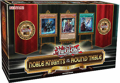 Yu-Gi-Oh! Noble Knights Of The Round Table Box Set- All Foil Deck, Game Mat+More