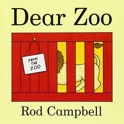Dear Zoo By Rod Campbell Child/Toddler Lift Flap Animal Story Book  New