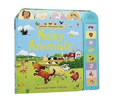 Farmyard Tales Noisy Animals Book Push Button Sounds Board Book Toddler New