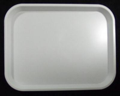 Kabi Plastic White Catering Tray KB1 x30
