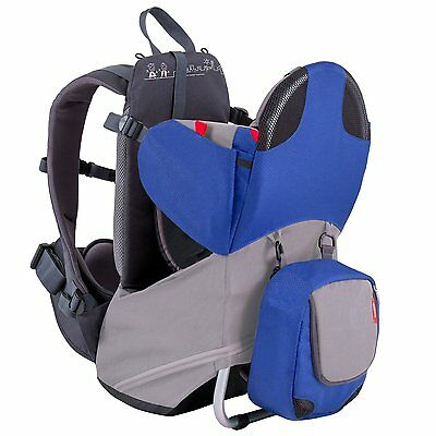 db2a2fa8fa9 PHIL   TEDS Parade Lightweight Backpack Baby Carrier - Orange   Grey ...