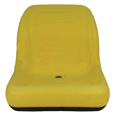 High Back Yellow Seat For John Deere Forklift 488E And Excavator 890