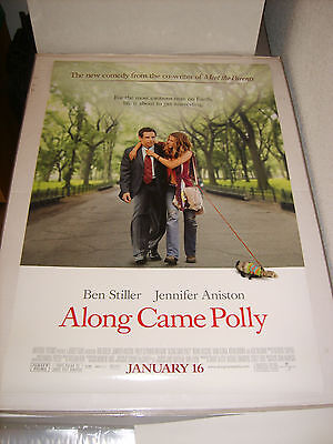ALONG CAME POLLY (2004) US AUTHENTIC ORIGINAL 27x40 DS MOVIE POSTER