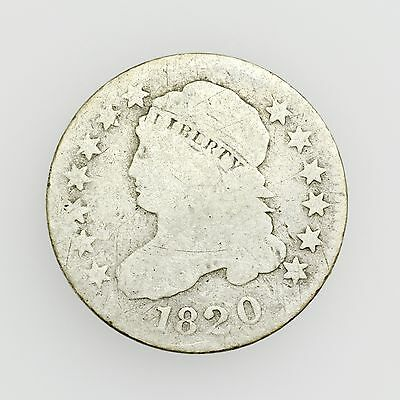 1820 Capped Bust Dime Small Circulated Silver Coin [2726.32]
