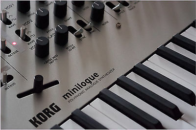 250 New Korg Minilogue patches