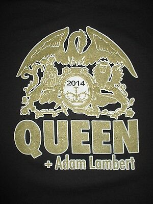 2014 QUEEN + ADAM LAMBERT Concert Tour (LG) T-Shirt