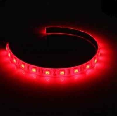 Red 30cm 18 LED Long Molex Connector Modding PC Case Strip Light HQ