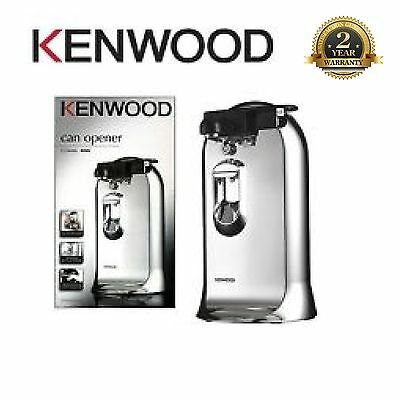 New Kenwood Electric Can Tin Bottle Opener Knife Sharpener 3-in-1 CO600 Silver