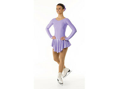 New Girls/childrens Lilac & Silver Hologram Baton Twirling Dress All Sizes