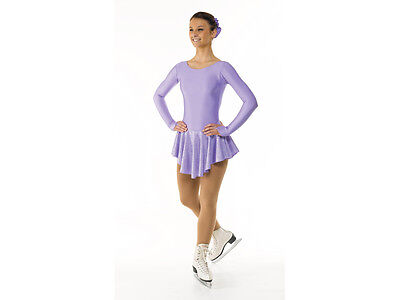 New Girls Lilac Ice Skating/baton Twirling/cheer Dress