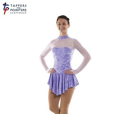 New Girls Ladies Velvet Ice Skating/baton Twirling Dress