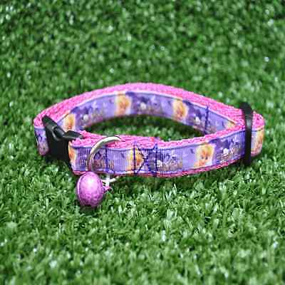 Purple Pink Tinkerbell Cat Kitten Puppy Small Dog Collar