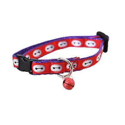 RED BAYMAX Big Hero 6 Cat Kitten Puppy Small Dog Collar