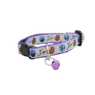 COOKIE MONSTER Sesame Street Cat Kitten Puppy Small Dog Collar
