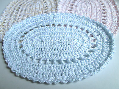 Crochet Dolls House Rug - Approx 14 cm x 10 cm (Large) - 1:12