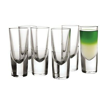 Maxwell & Williams Bar 130ml Liqueur Glass Set of 6 Gift Boxed Brand New
