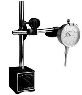 Mag Dial Indicator and Magnetic Base Stand Tool Mic Indicater Gauge Set Kit