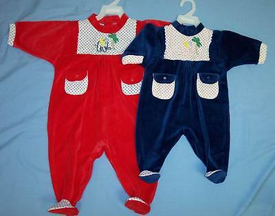 Baby Goods Baby Velour Playwear  Sizes: 9-24 Mos  Wholesale 6 Pcs (01084PW  ^)