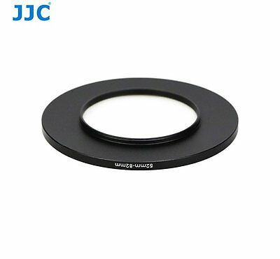 JJC SU 52-82mm Adapter Filter Camera Step Up Ring for 52mm lens w/ 82mm filters