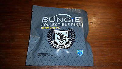 Bungie Foundation Collectible Pin with Emblem - Series 1 SEALED