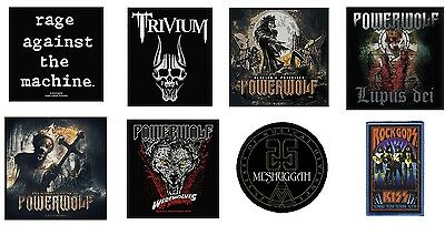 # POWERWOLF preachers KISS rock gods - OFFICIAL SEW ON PATCH logo patches