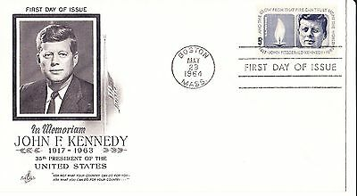 John F Kennedy In Memoriam 1st Day Cover