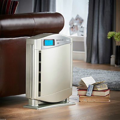 Fresh Air Purifier Ioniser Home Cleanser Purifyer Ionisers HEPA Filter Electric