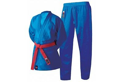 Cimac Judo Suit Gi Uniform Blue Kids Adults Training Cotton 350g Mens Childrens