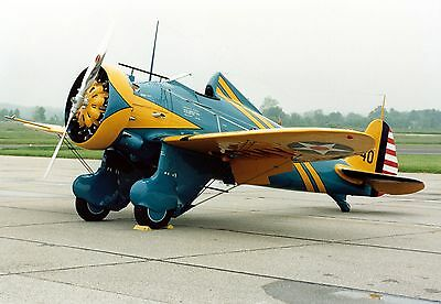 BOEING P-26A PEASHOOTER Bauplan RC Modell