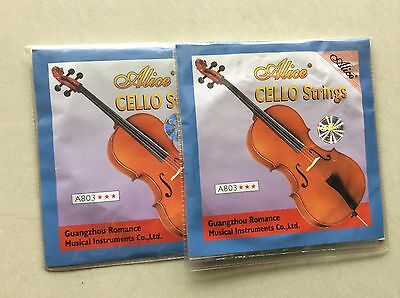 Cello String -----2 sets High quality 4/4 cello strings