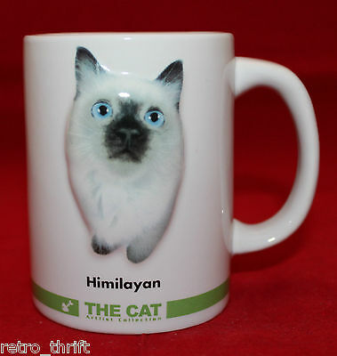 The Cat The Artlist Collection Himalayan 3D White Mug Cup 12 Accept No Copycats