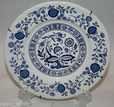 Enoch Wedgwood Blue Heritage 6 1/8 inch 15.5 cm Plate with Wall Hanger AS-IS