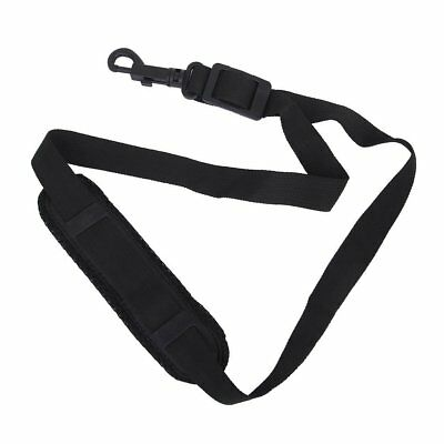 Saxophone Neck Strap with Snap Hook, Padded, Adjustable, Black WS