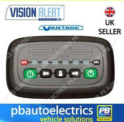 Vision Alert ECCO Vantage Lightbar In-Cab Simple Plug & Play Controller - EZ0006