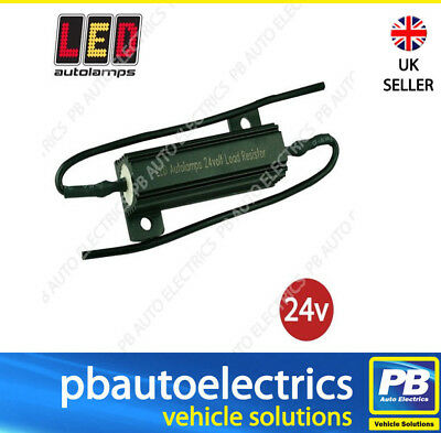 One Pair LED Autolamps 24v Dummy Load Ballast Resistors For Indicator Circuits