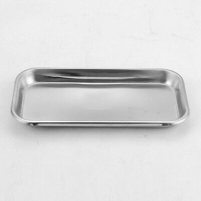 Dental Stainless Steel Medical Surgical Tray Dish Lab Instrument Tool