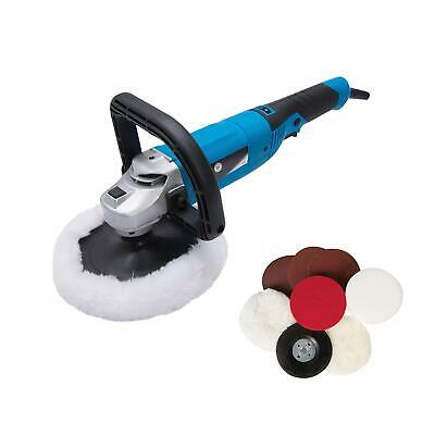Electric Sander Polisher Car Body Buffer Machine and 180mm Polishing/Sanding Kit