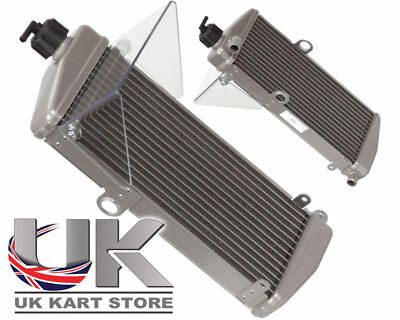 Rotax Max Aftermarket Silver Radiator with Flap 2012 - Current UK KART STORE