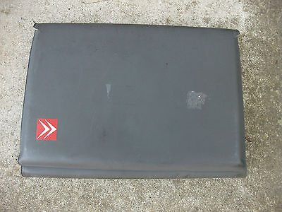 Citroen Dark Grey Plastic Documents Wallet For Owners Manual And Service History
