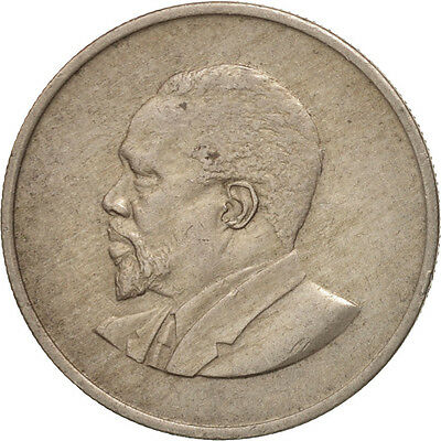 [#503162] Kenya, 50 Cents, 1968, SS, Copper-nickel, KM:4