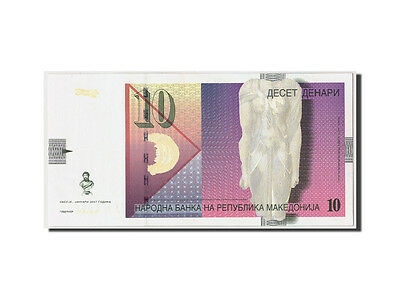 [#309978] Macedonia, 10 Denari, 2007, KM:14g, Undated
