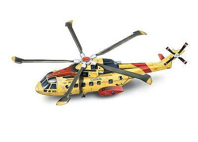 New  Ray 1/72 Agusta EH101 Canadian Rescue Helicopter (Die Cast) NRY25517