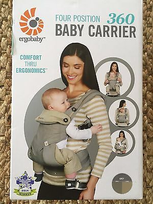 Ergobaby Four Position 360 Baby Carrier Grey